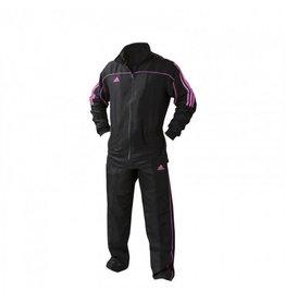 Adidas Team Track Tracksuit Black / Pink