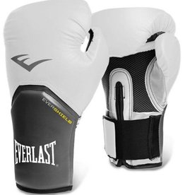 Everlast Elite pro style Boxing Glove - White