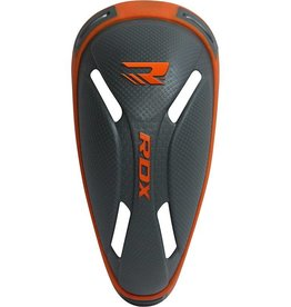RDX SPORTS Sports Groin Cup China Gray/Orange