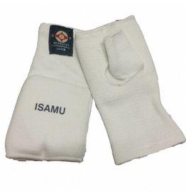 ISAMU ELASTIC KARATE PROTECTION HAND MITTS WITH THUMB