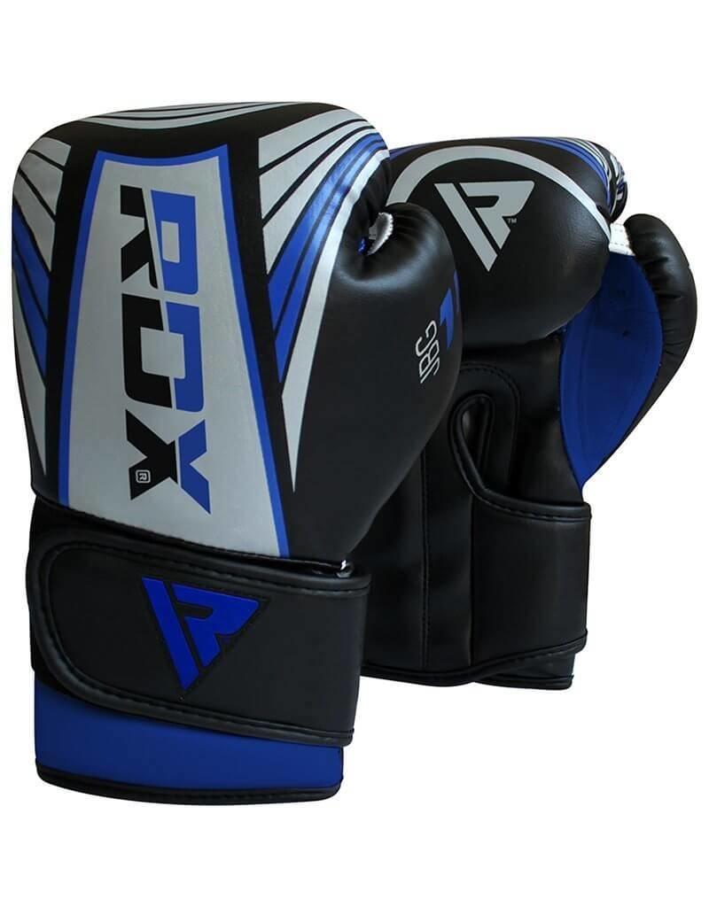 Boxing Glove Kids - Silver-Bleu