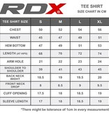 RDX SPORTS RDX LOGO MEN'S SHORT SLEEVE T-SHIRT - Black
