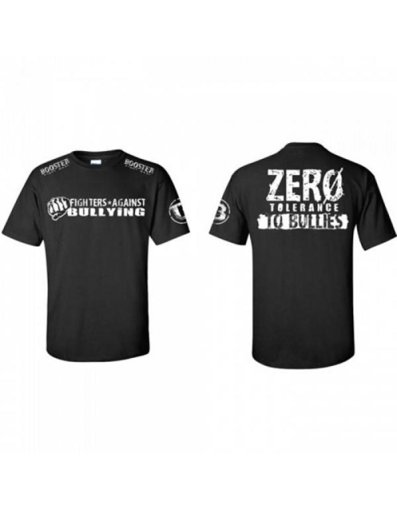 BOOSTER BOOSTER ZERO TOLERANCE PRO T-SHIRT -ZW/Wit