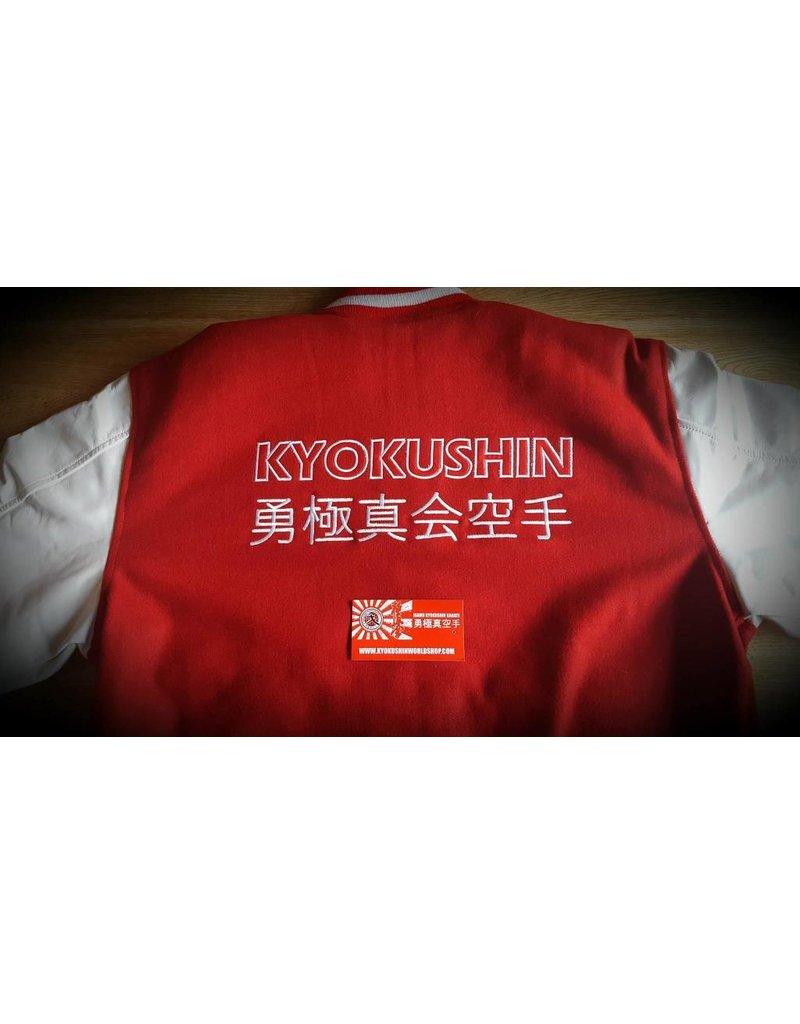 ISAMU 勇ISAMU Kyokushin Power Karate Varsity jas - Rood OP=OP