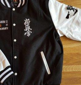 ISAMU 勇 ISAMU Kyokushin Ichigeki Varsity jacket - Black