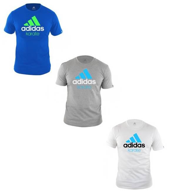 Raramente cantidad Independientemente  Adidas Karate T-shirt - KYOKUSHINWORLDSHOP