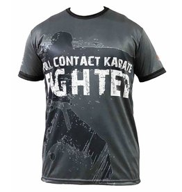 ISAMU DIAMOND CUP 2018 FULL CONTACT KARATE FIGHTER DRY TECH SHIRT