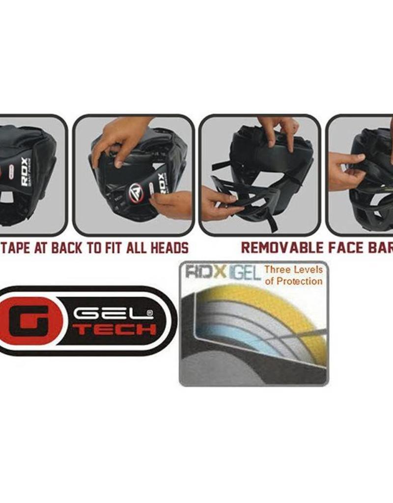 RDX SPORTS Head Guard - Grill Regular - Black