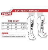 RDX SPORTS RDX T4 LEDER SHIN INSTEP GUARDS
