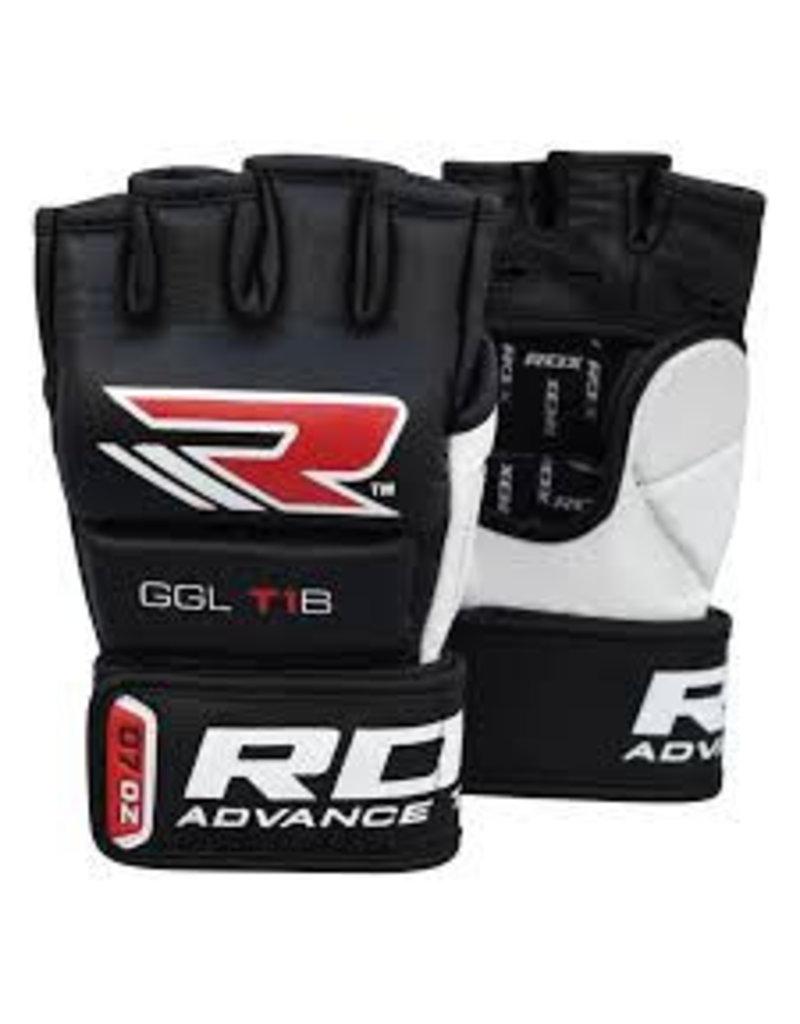 RDX SPORTS RDX T1 LEATHER MMA GLOVES