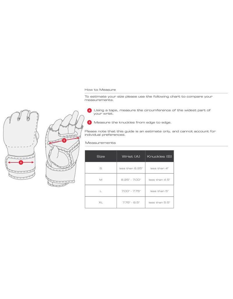 HAYABUSA Hayabusa T3 MMA Handschoenen Wit/Zwart OP=OP