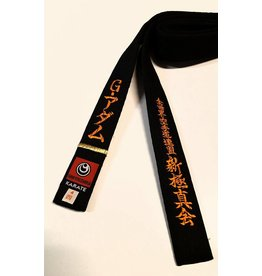 SHINKYOKUSHINKAI KARATE BLACK BELT