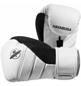 HAYABUSA T3 BOXING GLOVES - WHITE/BL WHILE SUPPLIES LAST