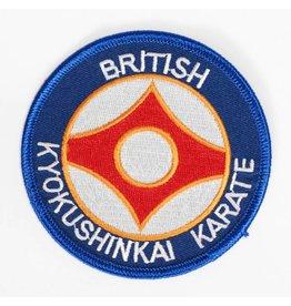 ISAMU BRITISCH KYOKUSHINKAI KARATE ORGANISATIE LOGO BORDURING