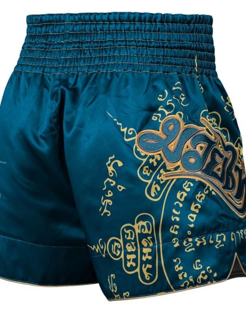 HAYABUSA HAYABUSA KICKBOKS PANTS FALCON MUAY THAI SHORT -Bleu