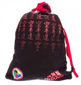 Adidas Adidas Rugzak WKF Approved Satijn Zwart/Rood