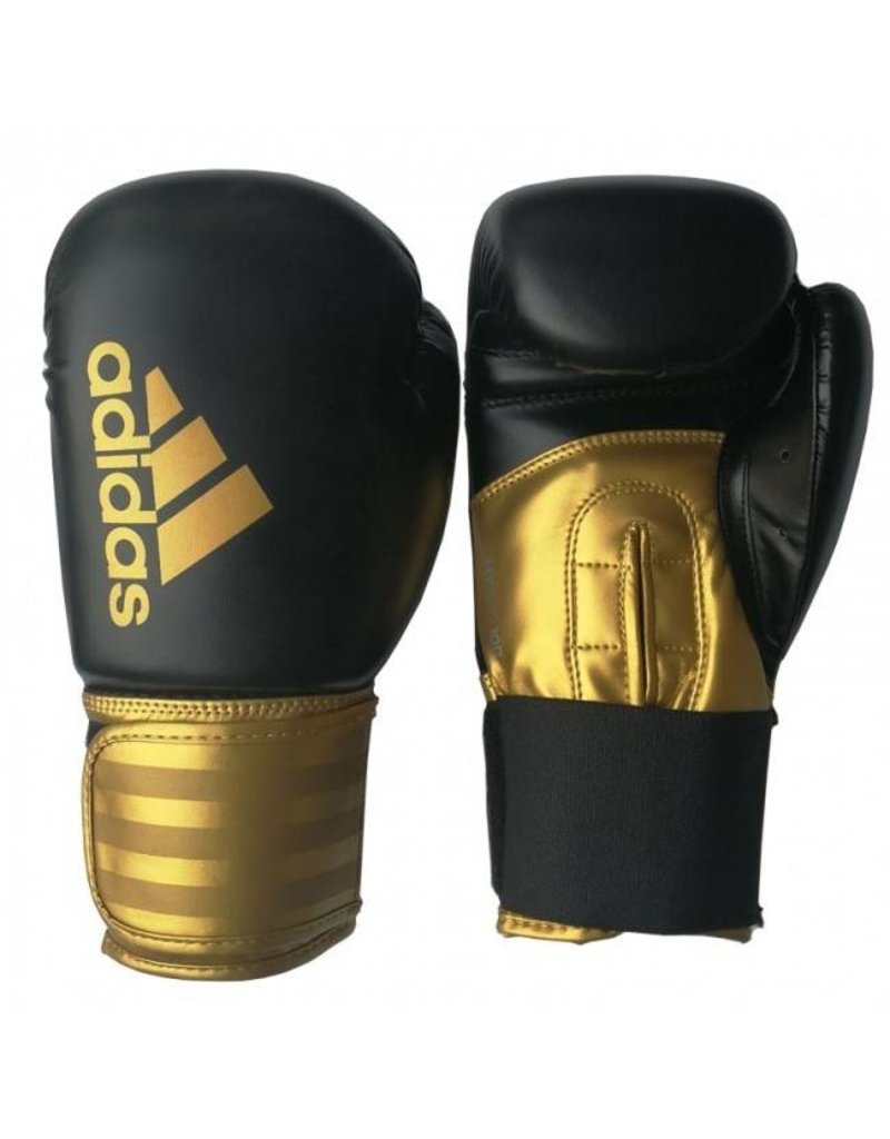 Adidas adidas Hybrid 100 (Kick)Bokshandschoenen Zwart/Goud