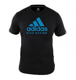 Adidas Adidas T-Shirt Kickboxing Community Black / Blue
