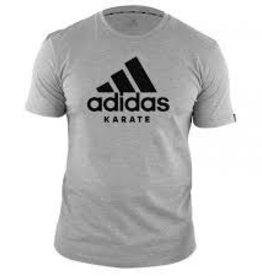 Adidas adidas T-Shirt Karate Community Gray / Black