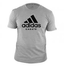 Adidas adidas T-Shirt Karate Community Gray / Black