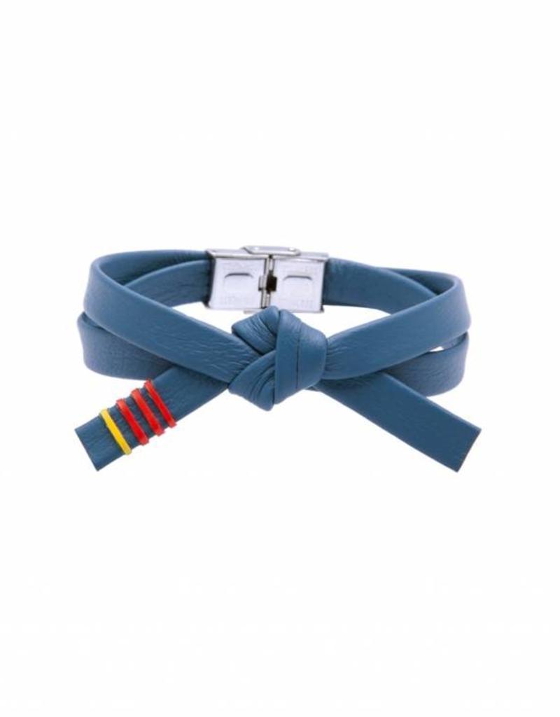 Kyokushinworldshop Lederen OBI armband