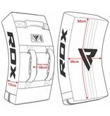RDX SPORTS RDX T1 Gel Padded Curved Kick Shield met Nylon Hendels