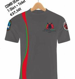 IFK Kata 2019 Combi Deal! T-shirt + Ticket