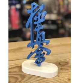 3D Kanji beeldje (Exclusief houder) - Blauw