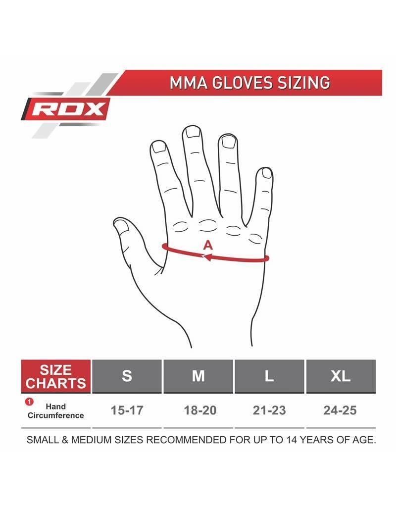 RDX SPORTS RDX MMA / Grappling-handschoenen