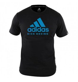 Adidas Adidas Kids T-Shirt Kickboxing Community Black / Blue
