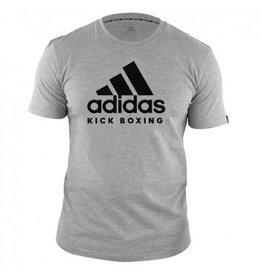 Adidas Adidas Kinder T-Shirt Kickboxing Community Grijs/Zwart