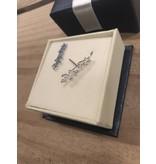 Kyokushin Kanji Oorstekers 925 Sterling Silver