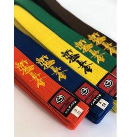 ISAMU 勇ISAMU Gekleurde Shin Kyokushin Kyu Band