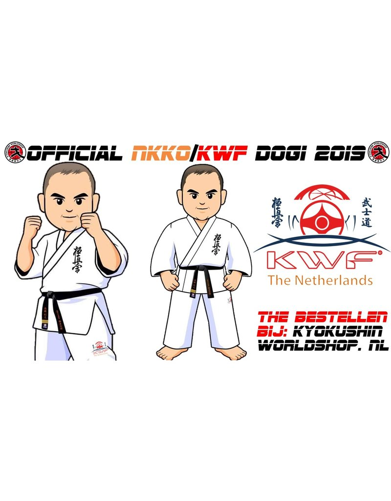 ISAMU Official KWF NKKO Logo Embroidery