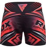 RDX SPORTS RDX R8 MMA Shorts Zwart/Rood