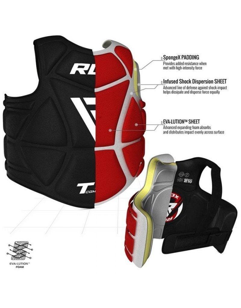 RDX SPORTS RDX T4 Chestguard/shield
