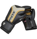 RDX SPORTS RDX T17 Aura Boxing Gloves Golden