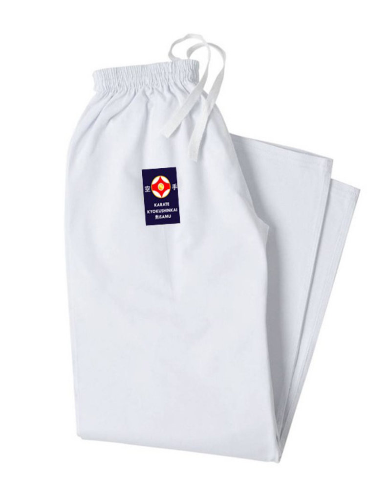 ISAMU 勇 ISAMU  karate pants with elastic band
