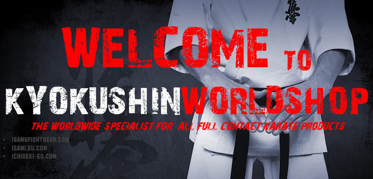 WELCOME TO KYOKUSHINWORLDSHOP