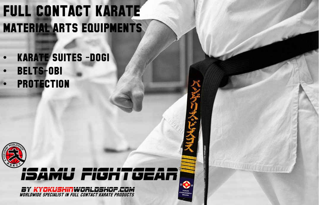 FULL CONTACT KARATE MATERIAL ARTS EQUIPMENTS
