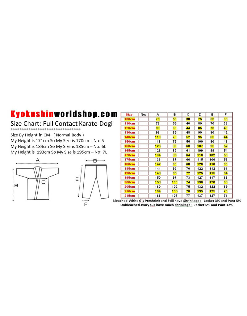 ISAMU 勇ISAMU KINDER KYOKUSHINKAI BASIC KARATE PAK