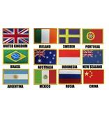 Landen vlag Borduring