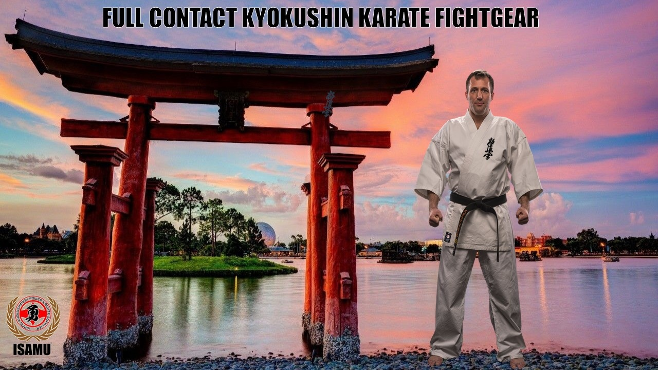 ISAMU FULL CONTACT KARATE GI-KYOKUSHIN
