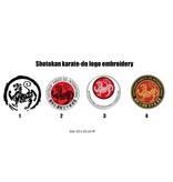 ISAMU Shotokan karate-do logo embroidery