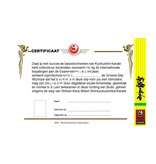 ISAMU Certificates - Kyu and Slip
