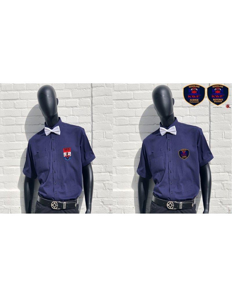 ISAMU Referee blouse - Navy Blue