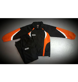 ISAMU 勇 ISAMU TEAM TRACKSUITE - Black & orange