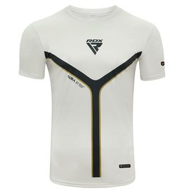 RDX SPORTS RDX T17 Aura Short Sleeve White T-Shirt