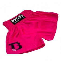 BOOSTER Booster Pink Kickboxing Shorts