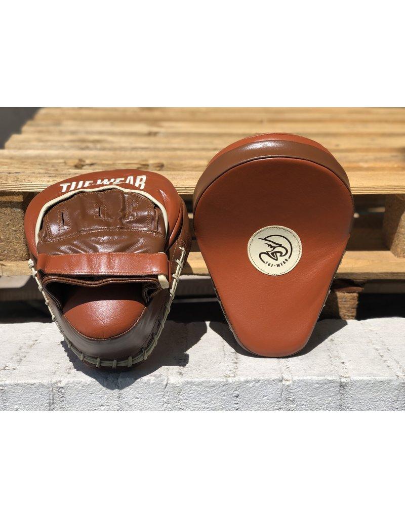 Tuf Wear Tuf Wear Classic Bruin Gebogen Focus Hoek en Jab Pads